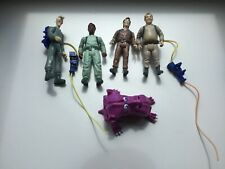 Vintage Ghostbusters action figure set 1984 egon peter ray winston & more