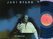 Jaki Byard ORIG ITA LP To them-to us NM '82 Soul Note SN1025 Free Jazz Bop