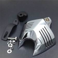 Chrome Horn Cover Fit for Harley Big Twins V-Rods Stock Cowbell Horns 1992-2013