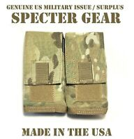 SPECTER GEAR 751 US MILITARY MULTICAM MOLLE QUAD 7.62 RIFLE MAG POUCH SHINGLE