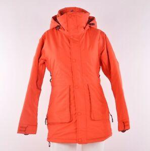 NWT WOMENS AIRBLASTER SNUGGLER SNOWBOARD JACKET $250 orange midweight insulation