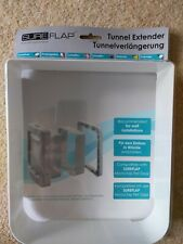 SureFlap Microchip Pet Door Tunnel Extender, White.