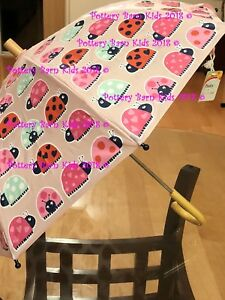 Pottery Barn Kids Ladybug Umbrella Kids Girls Raingear