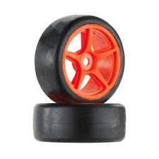 Associated Super Drift Wheel/Tire Combo Orange Apex
