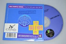 The Purple Kings – That's The Way You Do It. CD-Single Promo (ESP)