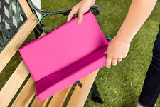 Pink 2 Part Portable Seat Pad Thick Living Aid Water Resistant Outdoor Garden
