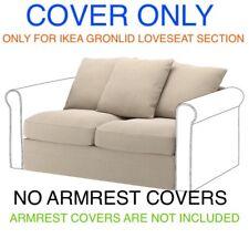 Ikea Gronlid Cover Slipcover For Loveseat Section Sporda Natural 003.986.46