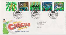 TALLENTS PMK GB ROYAL MAIL FDC FIRST DAY COVER 2002 CIRCUS STAMP SET NO INSERT