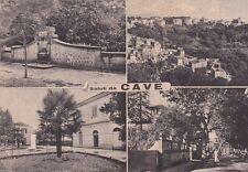 # CAVE: SALUTI DA