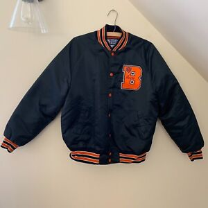 RARE Vintage Officially Licensed Product CHICAGO BEARS NFL Satin Jacket Mens L