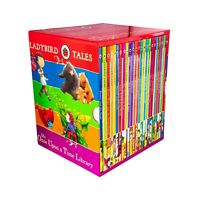 Ladybird Tales Once Upon Time Library 24 Books Children Collection Hardback Set