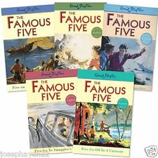 NEW SET of 5 x FAMOUS BOOK 1-5 Enid Blyton 1  2  3  4  5 (FIRST FIVE ADVENTURES)