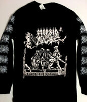 MORBID ANGEL Long Sleeve T shirt Black Death metal IMMOLATION MAYHEM SLAYER S-XL
