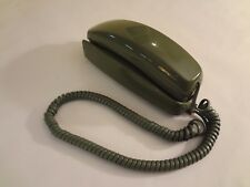 Western Electric Green Round Button Trimline Wall Telephone