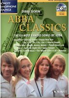 Altsaxophon Saxophon in Es + Klavier Noten : ABBA Classics mit CD playalong