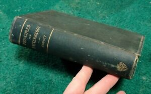 1902 PRICINPLES OF BACTERIOLOGY Manual Students Physicians A C Abbott Illus HC