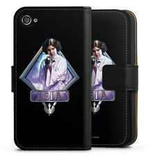 Apple iPhone 4 bolso funda flip case-Leia