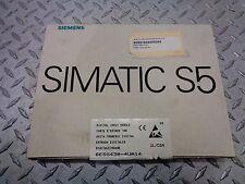 SIEMENS SIMATIC S5 DIGITAL INPUT MODULE 6ES5420-4UA13 Version 02 NIB