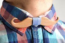 Wood Bow Tie Handicrafted Men Jewelry Designer Bow Tie Present For Boyfriend