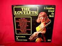 THE LOVELETS 4 SAX LP 1973 ITALY EX SEXY COVER