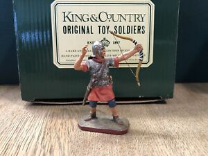 King & Country:  Boxed Roman With Bow. 54mm Solid Metal Figure