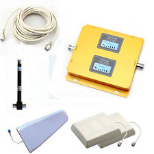 Dual Band Cell Phone Signal Booster Amplifier 850/2100MHz High Gain 2G/3G/4G LTE