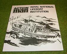 ACTION MAN 40th RNLI SEA RESCUE LEAFLET CB24615