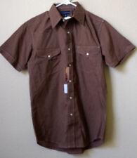 NWT Panhandle Slim Cowboy Western Ranch Pearl Snap SS Shirt, Medium 15 1/2