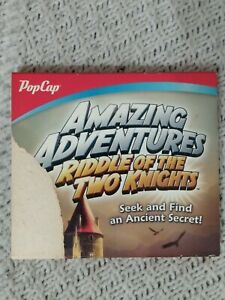 PopCap Amazing Adventures Riddle of the Two Knights - 2012 - PC GAME SHIPS FREE