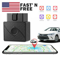 US OBD2 GPS Tracker Real Time Vehicle Tracking Device OBD II Car Truck Locator