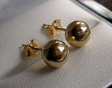 GENUINE 9ct Gold gf stud earrings,STUNNING QUALITY, LOW STOCK LEFT ST022
