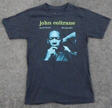 Original Vintage John Coltrane Blue Train Blue Note Records 1577 T-Shirt Small