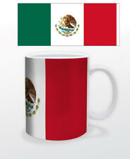 MEXICO 11 OZ COFFEE MUG TEA CUP FLAG LATIN AMERICAN TOURISM TRAVEL BEAUTIFUL!!!!