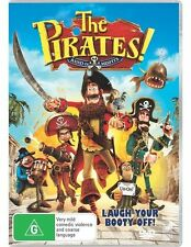 The Pirates! - Band Of Misfits (DVD, 2012) regions 2,4,5