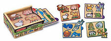 Melissa & Doug Animals Mini-Puzzle Pack #4790  BRAND NEW