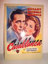 CARTE POSTALE CINEMA - CASANBLANCA BOGART