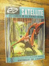 Sentinelle de l'espace  Frank Russel Satellite les cahiers de la science fiction