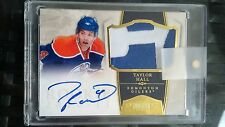 2010-11 Dominion Hockey Taylor Hall Rookie PATCH Gold AUTO /25