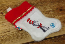Dr Seuss Cat in the Hat Christmas Ornament Stocking Official Movie Merchandise