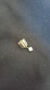 Gold pandora Pearl Dangle 750238LCZ