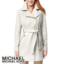 Michael Kors Asymmetrical-Zip Walker Coat