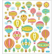 Scrapbooking Crafts Stickers Hot Air Balloons Rainbows Birds Animals Trees Sun