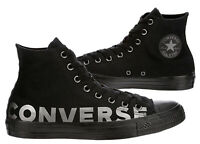 New CONVERSE Chuck Taylor Hi Top Bold Athletic Sneaker Mens black all sizes