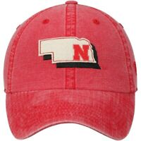 Nebraska Cornhuskers Hat Cap Snapback Washed Cotton One Size Fits Most NWT