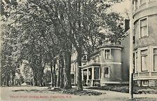 A View Of The Homes On Church Street, Looking South, Fredericton, NB Canada 1914