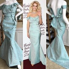Rita Ora's Vivienne Westwood Gold Label Fishtail Mermaid Gown Awards Dress