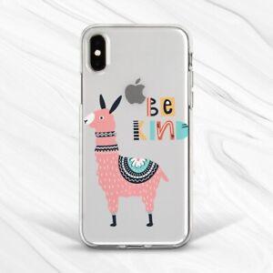 Pink Alpaca Llama Animal Traveler Case For iPhone 6S 7 8 Xs XR 11 Pro Plus Max