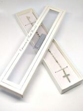 Sterling Silver Rosary Bracelet in Gift Box