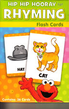 Sesame Street Flash Cards Early Learning - 34 Rhyming Cards