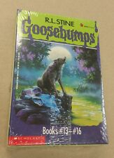 NEW Goosebumps Boxed Sets #13-16 The Werewolf of Fever Swamp Scholastic